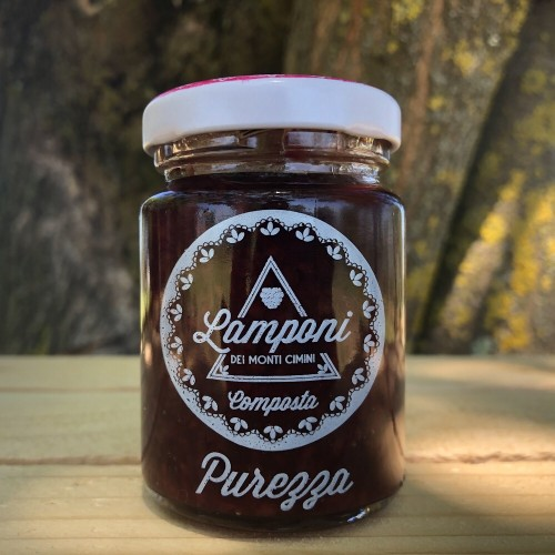 Composta Lamponi in Purezza 100g